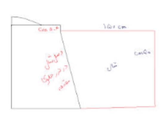 آموزش دوخت مقنعه لبنانی