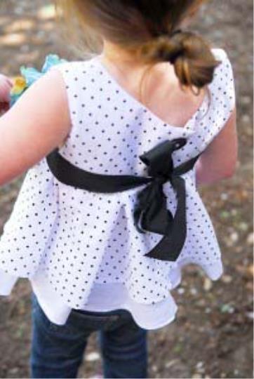 آموزش دوخت لباس بچگانه دختران