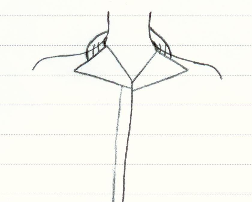 الگوی لباس پشت باز آموزش دوخت یقه انگلیسی با پشت یقه ی پیله دار   آموزشگاه ...